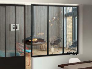 La verrière, une surface vitrée très appréciée de nos jours